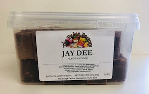 Fudge Factory Jay Dee Fudge Bulk Tub 1 x 2kg