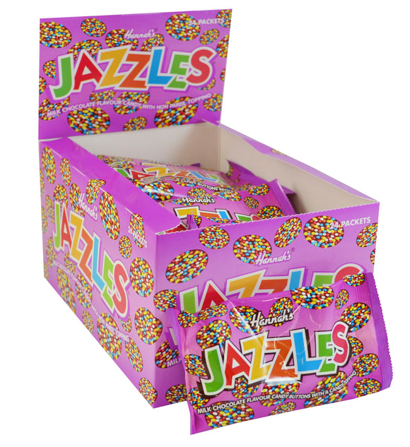 Milk Chocolate Flavour Jazzles Bags 24pk