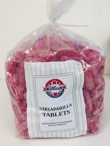 Mitre Confectionery Sarsaparilla Tablet Drops Poly Bag 1 x 3kg