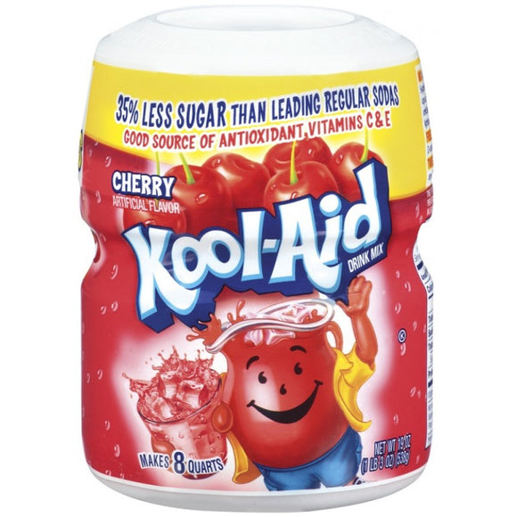 Kool Aid Cherry Sweetened Tub 1 x 538g