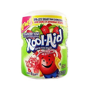 Kool Aid Strawberry & Kiwi Sweetened Tub 1 x 538g