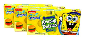 Krabby Patties Original Candy Theatre Boxes 12 x 72g