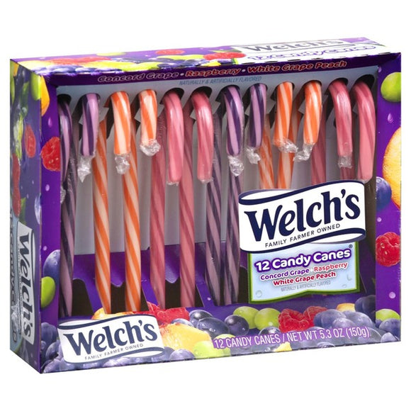 Welch's Candy Canes 12 x 12g