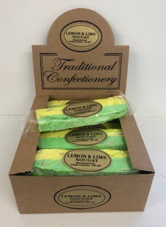 Stanton Lemon & Lime Nougat Bar 16 x 110g