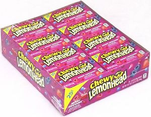 Chewy Lemonheads Berry Awesome 24 x 23g