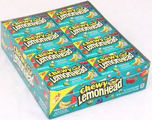 Chewy Lemonheads Tropical 24 x 23g