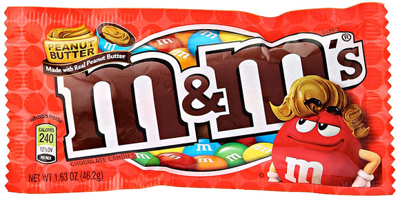 M&M Peanut Butter 24 x 46.2g