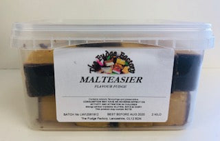 Fudge Factory Malteasier Fudge Bulk Tub 1 x 2kg