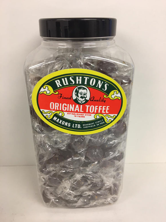 Rushton's Original Wrapped Toffee 2.27kg Jar