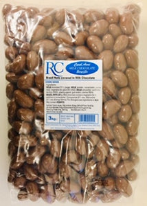 Carol Anne Milk Chocolate Covered Brazil Nuts 3kg Bag
