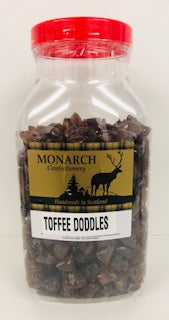 Monarch Confectionery Toffee Doddles Jar 1 x 3kg