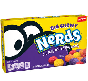 Big Chewy Nerds Theatre Boxes 12 x 4.25oz