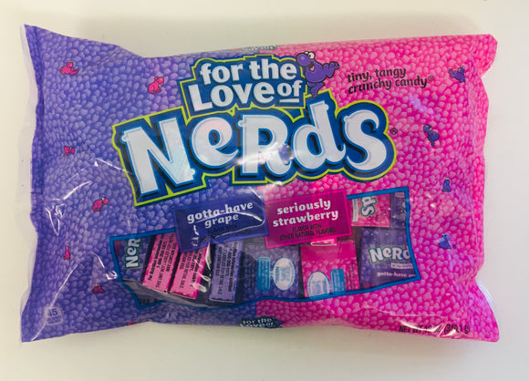 Nerds Strawberry & Grape Mini Boxes 1 x 340g (28 Boxes Appx)