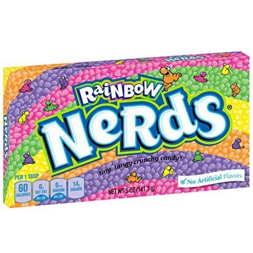 Nerds Rainbow Theater Boxes 12 x 141g Boxes