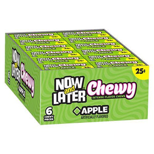 Now & Later Chewy Apple Minis 24 x 26g