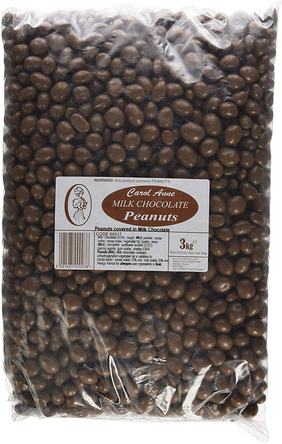 Carol Anne Milk Chocolate Covered Peanuts 3kg Bag