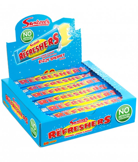 Swizzels Matlow Original Refresher Bars 60 x 18g