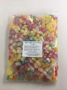 RJ Starch Veggie Fizzy Mini Bears 2kg Bag