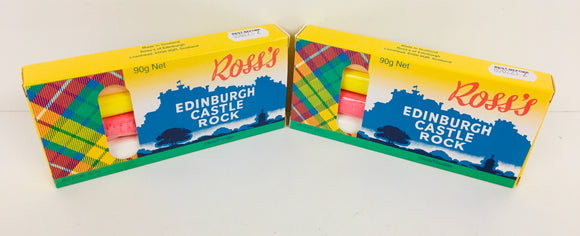 Ross's Edinburgh Castle Rock 4 Stick Gift Box 36 x 90g