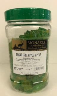 Monarch Confectionery Sugar Free Apple & Pear 1 x 1.2kg