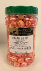 Monarch Confectionery Sugar Free Rose Buds 1 x 1.2kg