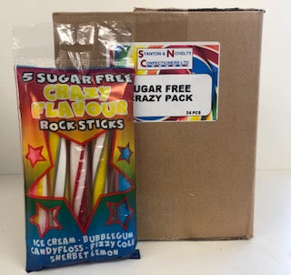 Stantons Sugar Free Crazy Rock Pack 24 x 5pk