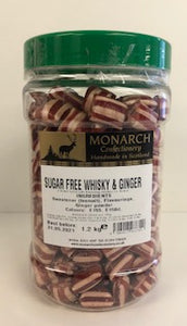 Monarch Confectionery Sugar Free Whiskey & Ginger 1 x 1.2kg