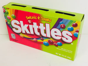 Skittles Sweet & Sour Theatre Boxes 12 x 99g