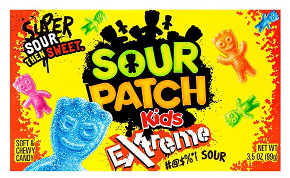Sour Patch Extreme Theater Boxes 12 x 99g