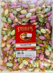 Stockley's Chocolate Fruits 3kg Bag