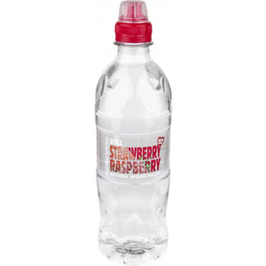 Sutton Spring Strawberry And Raspberry Flavoured Water Sports Cap  12 x 500ml