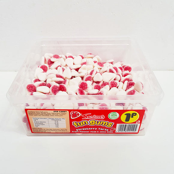 Swizzels 1p Strawberry Tarts Tub 600pk