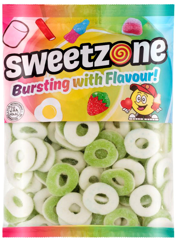 Sweetzone Premium Apple Rings 1kg Bag