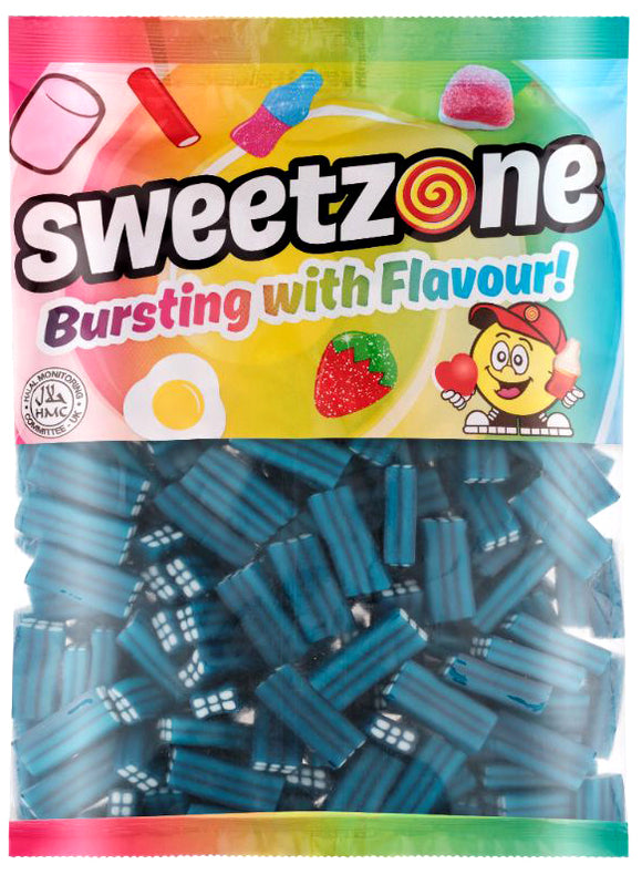 Sweetzone Premium Blue Raspberry Bricks 1kg Bag