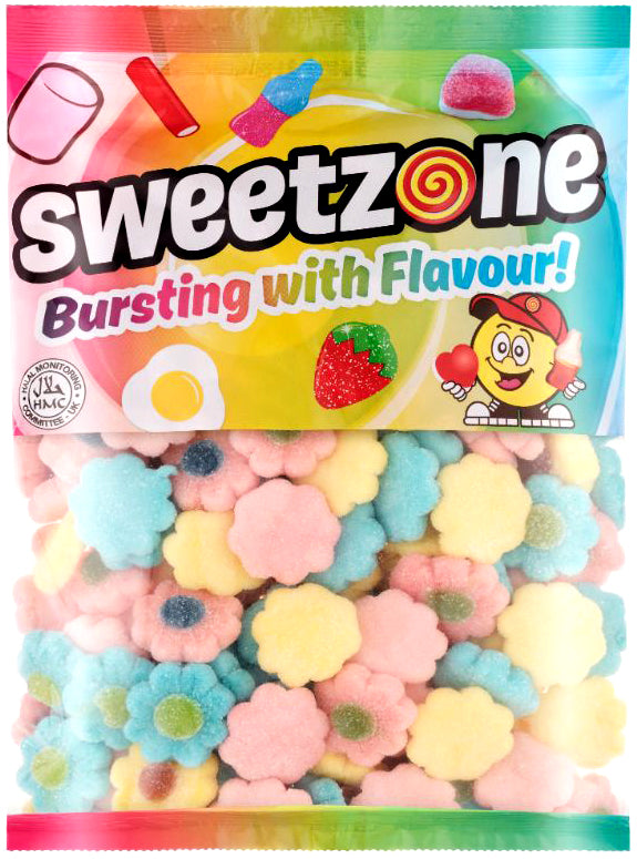 Sweetzone Premium Assorted Sugar Flowers 1kg Bag
