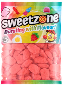 Sweetzone Premium Foam Strawberries 1kg Bag
