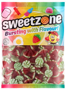 Sweetzone Premium Jelly Strawberry Cones 1kg Bag