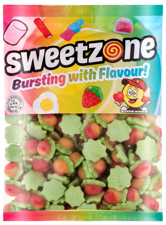 Sweetzone Premium Jelly Peaches 1kg Bag