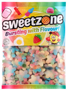 Sweetzone Premium Rainbow Sugar Flowers 1kg Bag
