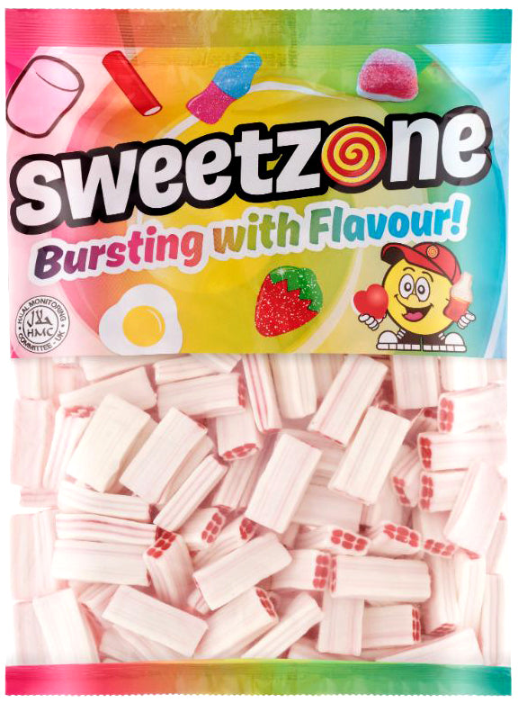 Sweetzone Premium Strawberry & Cream Bricks 1kg Bag