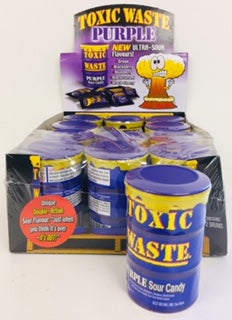 Toxic Waste Cans Purple 12pk