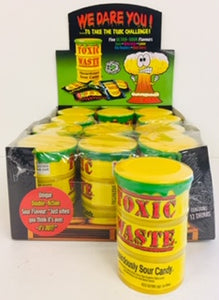 Toxic Waste Cans Yellow 12pk
