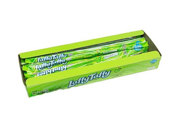 Laffy Taffy Sour Apple Ropes 24 x 23g