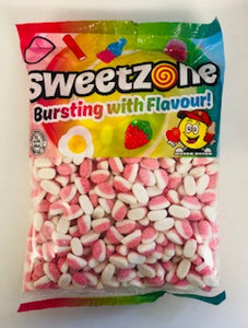 Sweetzone Premium Strawberry Puffs 1kg Bag
