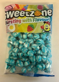 Sweetzone Premium Jelly Blue Twist Kiss 1kg Bag
