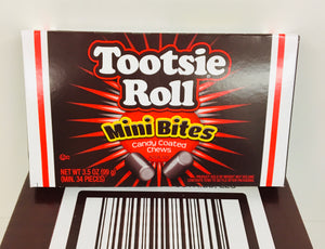 Tootsie Roll Mini Bites Theatre Boxes 12 x 99g