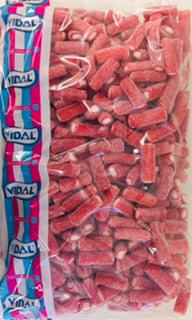 Vidal Fizzy Mini Strawberry Pencils 3kg