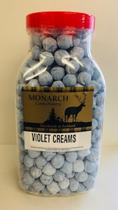 Monarch Confectionery Violet Creams Jar 1 x 2kg