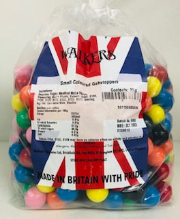 Walkers Small Coloured Gobstoppers Poly Bag 1 x 3kg 139510