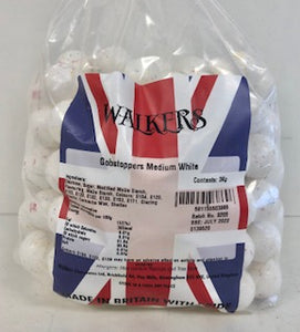 Walkers Medium White Gobstoppers Poly Bag 1 x 3kg 139520